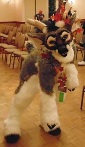 Comet at AZ fur con